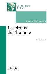 Dernières parutions dans Connaissance du droit, Les droits de l'Homme. 6e édition