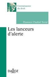 Dernières parutions dans Connaissance du droit, Les lançeurs d?alerte