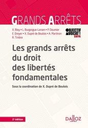 Dernières parutions sur Droits de l'homme, Les grands arrêts du droit des libertés fondamentales. 2e édition