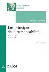 Dernières parutions dans Connaissance du droit, Les principes de la responsabilité civile
