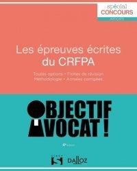 Dernières parutions sur Préparation au CRFPA, Les épreuves écrites du CRFPA. 4e édition