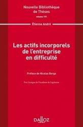 Dernières parutions dans Nouvelle Bibliothèque Thèses, Les actifs incorporels de l'entreprise en difficulté