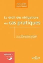 Dernières parutions sur Droit des obligations, Le droit des obligations en cas pratiques