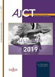 Dernières parutions sur Collectivités locales, Les dossiers 2019 de l'AJCT