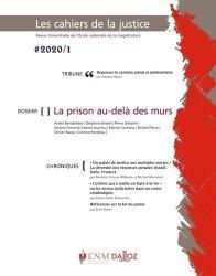 Dernières parutions sur Revues de droit et justice, Les Cahiers de la Justice N° 1/2020