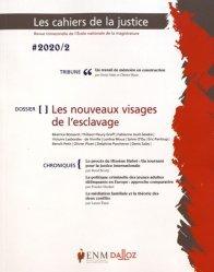 Dernières parutions sur Revues de droit et justice, Les Cahiers de la Justice N° 2/2020