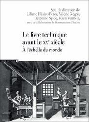 Dernières parutions dans ALPHA, Le livre technique avant le XXe siècle