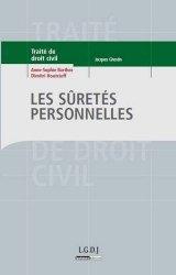 Dernières parutions dans Traité de droit civil, Les sûretés personnelles