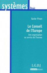 Dernières parutions dans Systèmes. Droit, Le Conseil de l'Europe. Une organisation au service de l'homme