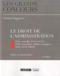 Dernières parutions dans Les grands concours, Le droit de l'administration. 4e édition