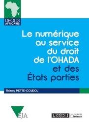 Dernières parutions dans Droits africains, Le numérique au service du droit de l'OHADA et des Etats parties