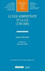 Dernières parutions dans Bibliothèque de Droit Public, Le juge administratif et la loi (1789-1889)