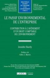 Dernières parutions sur Droit de l'environnement, Le passif environnemental de l'entreprise
