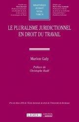 Dernières parutions sur Droit du travail et de l'emploi, Le pluralisme juridictionnel en droit du travail