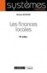 Dernières parutions sur Finances publiques, Les finances locales. 18e édition