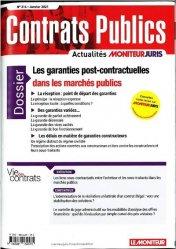 Dernières parutions sur Marchés publics, Les garanties post-contractuelles dans les marchés publics
