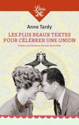 Nouvelle édition Les plus beaux textes pour célébrer une union