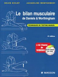 Souvent acheté avec Anatomie de l'appareil locomoteur Pack 3 volumes, le Le bilan musculaire de Daniels et Worthingham