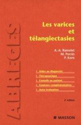 Dernières parutions dans Abrégés, Les varices et télangiectasies