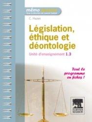Souvent acheté avec Endocrinologie, le Législation, éthique et déontologie