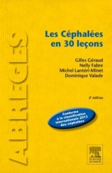 Dernières parutions dans Abrégés, Les Céphalées en 30 leçons