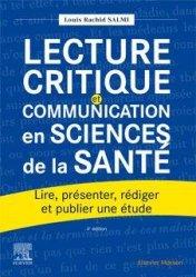 Dernières parutions sur Médecine, Lecture critique et communication en sciences de la santé