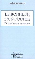 Dernières parutions dans Points de vue, Le bonheur d'un couple.