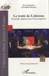 Dernières parutions dans Droit, société et risque, Le traité de Lisbonne. De nouvelles compétences pour l'Union Européenne ?