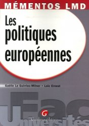Dernières parutions dans Fac Universités : Mémentos LMD, Les politiques européennes