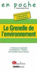 Dernières parutions dans En poche, Le Grenelle de l'environnement