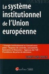 Dernières parutions dans Master, Le système institutionnel de l'Union européeenne