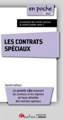 Dernières parutions dans En poche, Les contrats spéciaux. Edition 2019