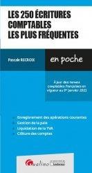 Dernières parutions dans En poche, Les 250 écritures comptables les plus fréquentes