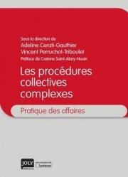 Dernières parutions dans Pratique des affaires, Les procédures collectives complexes