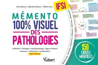 Dernières parutions sur Infirmières, Le mémento 100% visuel des pathologies en IFSI