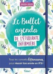 Dernières parutions sur Paramédical, Le bullet agenda de l'étudiante infirmière. Edition 2020-2021