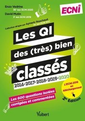 Dernières parutions sur ECN iECN DFASM DCEM, Les QI des (très) bien classés 2016-2017-2018-2019-2020