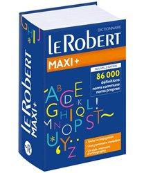 Nouvelle édition Le Robert maxi plus