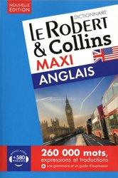 Dernières parutions sur Dictionnaires, Le Robert & Collins maxi français-anglais et anglais-français