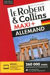 Dernières parutions sur Dictionnaires, Le Robert & Collins Maxi + français-allemand / allemand-français