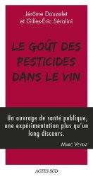 Dernières parutions sur Viticulture naturelle, Le goût des pesticides dans le vin