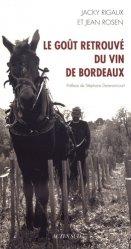 Dernières parutions dans Nature, Le goût retrouvé du vin de Bordeaux
