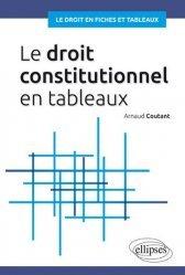 Dernières parutions dans Le droit en fiches et en tableaux, Le droit constitutionnel en tableaux