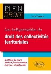 Dernières parutions dans Plein droit, Les indispensables du droit des collectivités territoriales