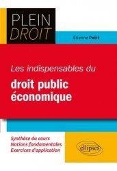 Dernières parutions dans Plein droit, Les indispensables du droit public économique