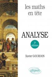 Souvent acheté avec Ordonnances, le Les maths en tête. Analyse - 3e édition