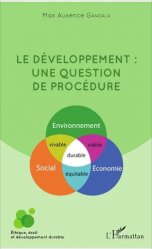 Dernières parutions sur Éthique, normes et indicateurs, Le développement : une question de procédure