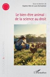 Dernières parutions dans Colloques et rencontres, Le bien-être animal : de la science au droit