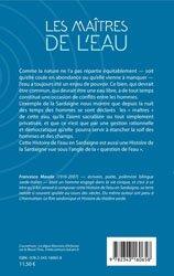 Dernières parutions sur Hydrologie - Océanologie, Les maîtres de l'eau