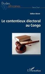 Dernières parutions dans Etudes africaines, Le contentieux électoral au Congo https://fr.calameo.com/read/005370624e5ffd8627086